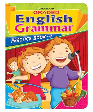 Dreamland Graded English Grammar Practice Book 4 - English