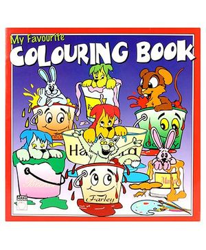 Apple Books My Favourite Coloring Book Red - English