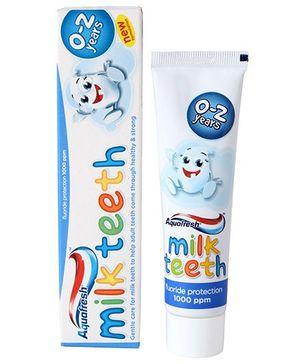 Aquafresh Toothpaste Milk Teeth