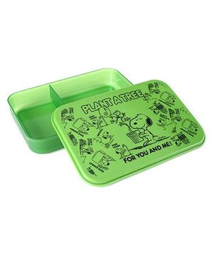 Snoopy Lunch Box - Green