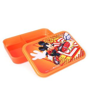 Mickey Mouse And Friends Lunch Box - Orange