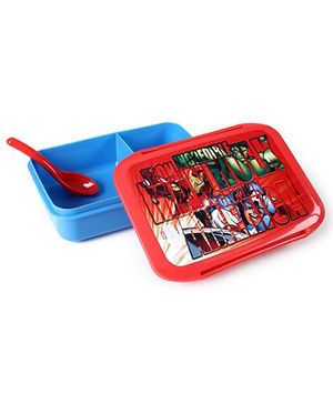 Marvel Lunch Box - Red And Blue