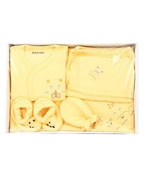 Child World Baby Clothing Gift Box Yellow - Pack Of 6