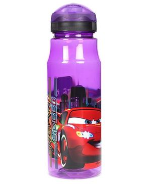 Disney Pixar Cars Sipper Bottle - Purple And Red