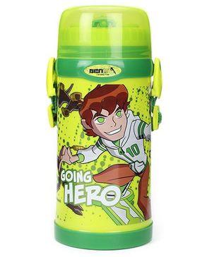 Ben 10 Sipper Bottle - Green And Yellow