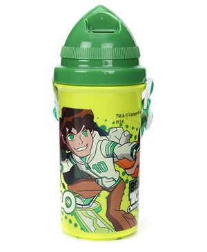 Ben 10 Sipper Bottle - Green And Yellow