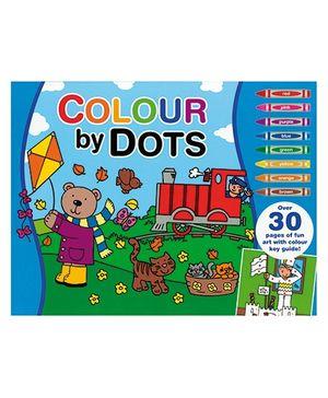 Alligator Books Colour by Dots - Blue