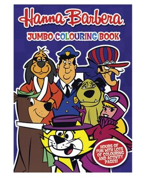 Alligator Books Hanna Barbera Jumbo Colouring Book