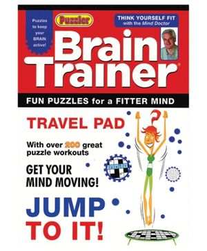 Alligator Books Brain Trainer Travel Pad Jump To It - English