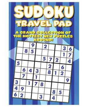 Alligator Books Sudoku Travel Pad - English