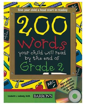 Barrons 200 Words Your Child Will Read End Of Grade 2