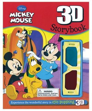 Parragon The Amazing Story All In 3D - Mickey Mouse