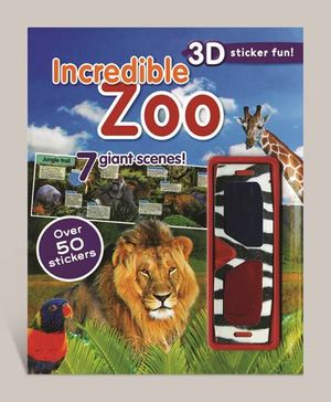 3d Sticker Fun - Incredible Zoo