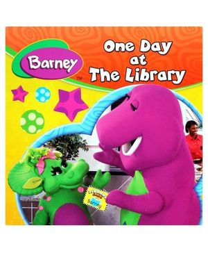 Barney One Day At The Library