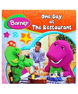 Barney One Day At The Restaurant