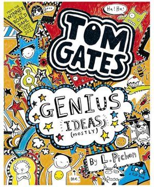 Scholastic Book Tom Gates Genius Ideas - English