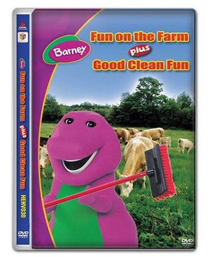 Hit Entertainment Barney Fun On The Farm DVD - English