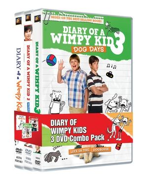 20th Century Fox Diary Of A Wimpy Kids DVD Set - English