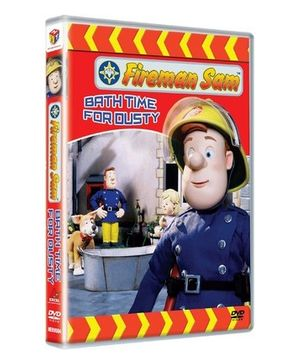 Hit Entertainment Fireman Sam Bath Time For Dusty DVD - English
