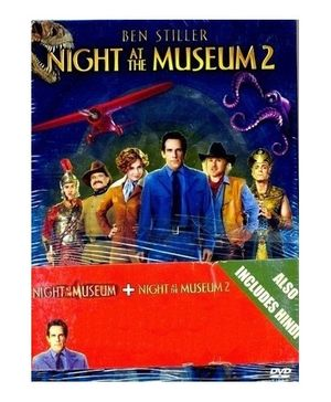 20th Century Fox Night At The Museum Part 1 And 2 DVD - English And Hindi