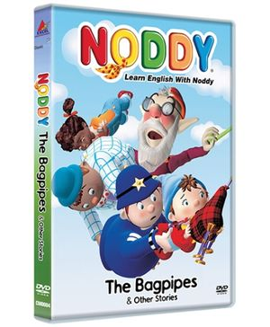 Classic Media Noddy And The Bagpipes DVD - English