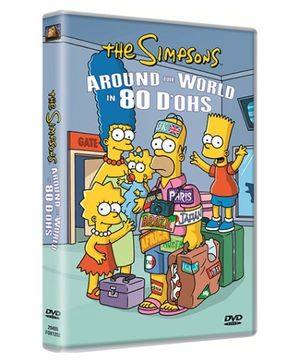 20th Century Fox Simpsons Around The World In 80 DOHS DVD - English