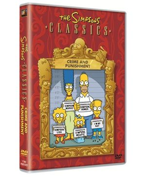 20th Century Fox The Simpsons Crime And Punishment DVD - English