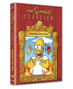 20th Century Fox DVD Simpsons Heaven And Hell - English