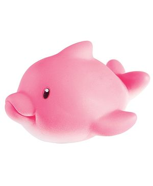 Tolly Joy Squeeze Toy Dolphin - Pink