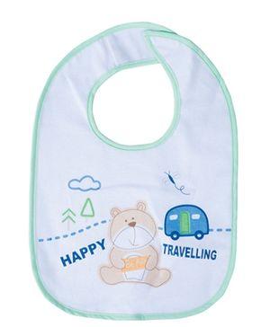 Tollyjoy Velcro Bib - Happy Travelling