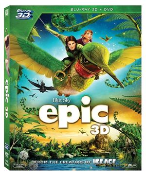 20th Century Fox DVD Epic 3D - English