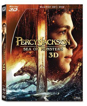 20th Century Fox DVD Percy Jackson Sea of Monsters - English