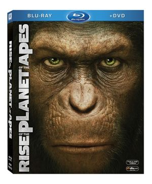 20th Century Fox DVD Rise of The Planet of The Apes - English