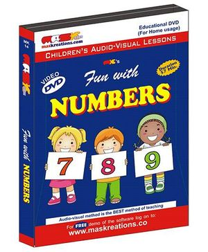MAS Kreations Fun with Numbers - English