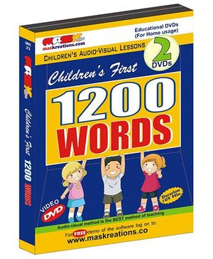 MAS Kreations Childrens First 1200 Words - English