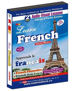 MAS Kreations Learn French Pack of 2 CD - French