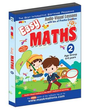 MAS Kreations Easy Maths-2 - English