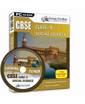 Average2Excellent CD CBSE Class X - Social Science