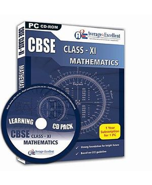 Average2Excellent CD Class XI Mathematics - CBSE Board