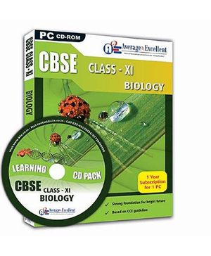 Average2Excellent CD Class XI Biology - CBSE Board