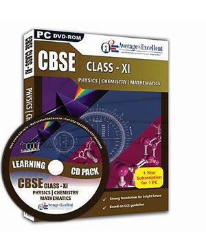 Average2Excellent Class XI Combo Pack DVD - CBSE Board