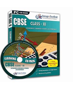 Average2Excellent CD Class XI Combo Pack - CBSE Board