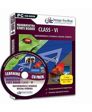 Average2Excellent CD Class VI Combo Pack - Maharashtra Board