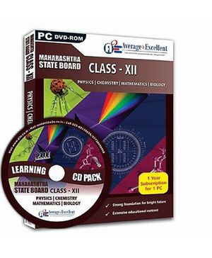 Average2Excellent DVD Class XII Combo Pack - Maharashtra State Board