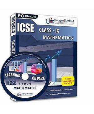 Average2Excellent Class IX Mathematics - ICSE Board