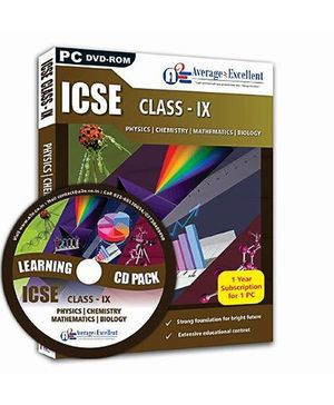 Average2Excellent DVD Class IX Combo Pack - ICSE Board