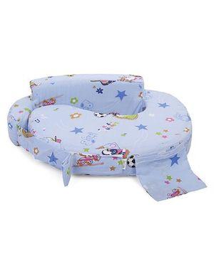 Babyhug Feeding Pillow Small Snooby Print