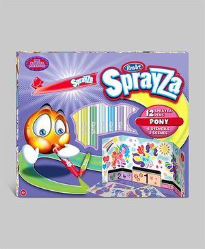 Sprayza Super Pro Set 2 Pony