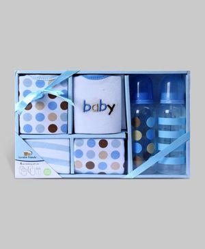 Blue 6 Piece Feeding Gift Set