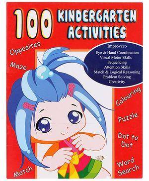 Smile Books 100 Kindergarten Activities Level 1 - English